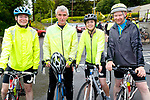 Michael, Willie, Aoife and Sean O'Shea at the Stephenie O'Sullivan Memorial Cycle at Milton on Sunday.