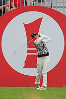 Teresa Lu (TPE) on the 1st tee during Round 3 of the Ricoh Women's British Open at Royal Lytham &amp; St. Annes on Saturday 4th August 2018.<br /> Picture:  Thos Caffrey / Golffile<br /> <br /> All photo usage must carry mandatory copyright credit (&copy; Golffile | Thos Caffrey)