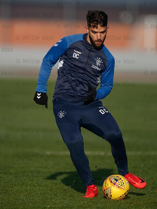01.02.2019: Rangers training: Daniel Candeias