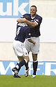 11/08/2007       Copyright Pic: James Stewart.File Name : sct_jspa04_falkirk_v_celtic.MICHAEL HIGDON CELEBRATE AFTER HE SCORES FALKIRK'S FIRST....James Stewart Photo Agency 19 Carronlea Drive, Falkirk. FK2 8DN      Vat Reg No. 607 6932 25.Office     : +44 (0)1324 570906     .Mobile   : +44 (0)7721 416997.Fax         : +44 (0)1324 570906.E-mail  :  jim@jspa.co.uk.If you require further information then contact Jim Stewart on any of the numbers above........