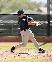 Tommy Medica - San Diego Padres - 2010 Instructional League.Photo by:  Bill Mitchell/Four Seam Images..