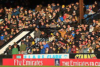 Cambridge fans during Cambridge United vs Sutton United , Emirates FA Cup Football at the Cambs Glass Stadium on 5th November 2017
