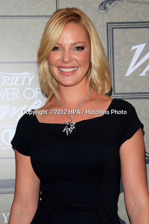 LOS ANGELES - OCT 5:  Katherine Heigl arrives at the Variety's 4th Annual Power Of Women Event at Beverly Wilshire Hotel on October 5, 2012 in Beverly Hills, CA