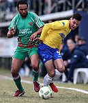 Action during the Chatham Cup Football Quarter Final match, Central United v Wairarapa United Football, Kiwitea Street, Auckland, New Zealand, Saturday 6 August  2017. Photo: Simon Watts/www.bwmedia.co.nz