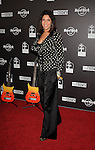 HOLLYWOOD, CA. - October 21: Christine Divine  arrives at the Hard Rock Cafe - Hollywood - Grand Opening on October 21, 2010 in Hollywood, California.