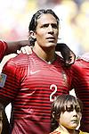 Bruno Alves (POR), JUNE 26, 2014 - Football / Soccer : FIFA World Cup Brazil<br /> match between Portugal and Ghana at the Estadio Nacional in Brasilia, Brazil. (Photo by AFLO) [3604]