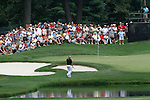 Darren Clarke (NIR) making his way onto the 3rd green on day 1of the World Golf Championship Bridgestone Invitational, from Firestone Country Club, Akron, Ohio. 4/8/11.Picture Fran Caffrey www.golffile.ie