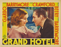 Grand Hotel (1932)<br /> Lobby card with Greta Garbo &amp; John Barrymore<br /> *Filmstill - Editorial Use Only*<br /> CAP/MFS<br /> Image supplied by Capital Pictures