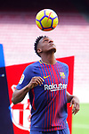 2018-01-13-Presentation of Yerri Mina as New Player of the FC Barcelona.
