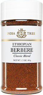30570 Ethiopian Berbere, Small Jar 1.7 oz, India Tree Storefront