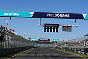 25th March 2018, Melbourne Grand Prix Circuit, Melbourne, Australia; Melbourne Formula One Grand Prix, race day; Starting lights