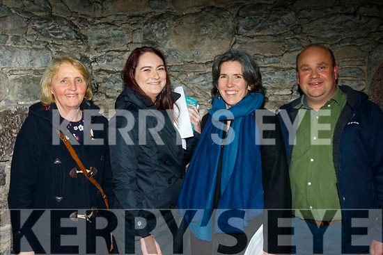 Attending the New Dingle Choir&Orchestra performance in St Mary's church, Dingle on December 22nd last, were L-R  Tricha Moriarty, Evlyn Coy, Emer Fallon with Lasse Mulcahy, all Ballyferritor.