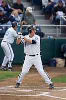 June 22, 2008: The Everett AquaSox's Travis Howell at-bat against the Boise Hawks during a Northwest League game at Everett Memorial Stadium in Everett, Washington.