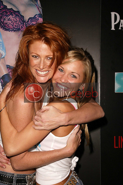 Angie Everhart and Jennifer Birmingham