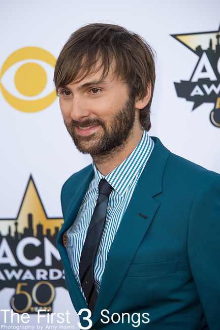 Dave Haywood of Lady Antebellum attends the 50th Academy Of Country Music Awards at AT&T Stadium on April 19, 2015 in Arlington, Texas.