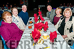 Moyvane Village Festival : Attending the Boro Buffet Dinner at the Moyvane Community Centre on Friday night last as part of the Moyvane Village Festival were Birdie Ambrose, Joan & Willie Riordan, Jerry & Marianne Shine & Birdie O'Connor