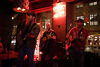 Gardy Fury, Jean-Marc Couture Philippe Berghella and other local artists attend the First anniversary of the Jack Saloon<br />  in Old-Montrreal, October 7, 2015.<br /> <br /> PHOTO : Pierre Roussel - Agence Quebec Presse