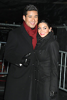 NEW YORK, NY DECEMBER 31: Courtney Mazza and Mario Lopez at New Year's Eve 2013 in Times Square in New York City. December 31, 2012. New York City. Credit: RW/MediaPunch Inc.