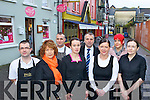 Business people from Old Market Lane who are appalled at a break-in in one of the shops recently l-r: Jason Stack,Maureen Aherne, Mike Safarick, Noreen Mangan, John McEnery, Sheila McCarthy, Shirley Mahony and Gretta Shine