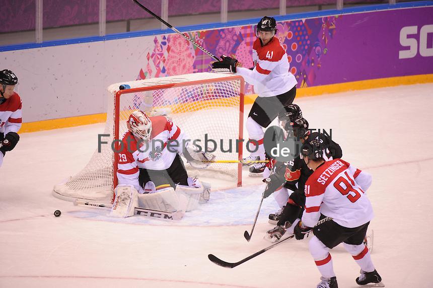 OLYMPICS: SOCHI: Bolshoy Ice Dome, 14-02-2014, Ice Hockey, Men's Prelim. Round Group B, Canada - Austria, result: 6-0, ©photo Martin de Jong
