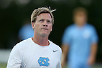 04 October 2016: UNC assistant coach Grant Porter. The University of North Carolina Tar Heels hosted the UNC Wilmington Seahawks at Fetzer Field in Chapel Hill, North Carolina in a 2016 NCAA Division I Men's Soccer match. UNC won the game 1-0.
