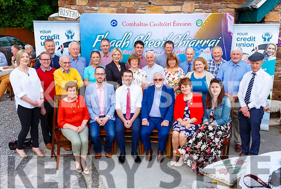 Minister Brendan Griffin launching the Fleadh Cheoil Chiarrai with the County and Milltown committees which will be held in Milltown on the 20th-24th June