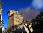Historic church in village of Nijar, Almeria, Spain