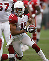 LARRYY FITZGERALD, of the Arizona Cardinals during their game  against the San Francisco 49ers on December 24, 2006 in San Francisco, CA...Cardinals win 26-20....ROB HOLT/ SPORTPICS