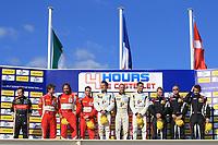 PODIUM GTC : #3 TEAM LNT (GBR) GINETTA NISSAN LMP3 CHRIS HOY (GBR) CHARLIE ROBERSTON (GBR)#59 TDS RACING (FRA) BMW Z4 GT3 GTC FRANCK PERERA (FRA) DINO LUNARDI (FRA) ERIC DERMONT (FRA)