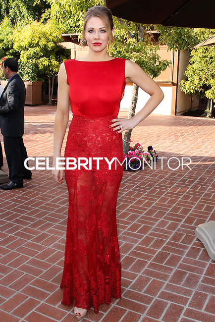 BURBANK, CA, USA - JUNE 26: Actress Maitland Ward arrives at the 40th Annual Saturn Awards held at The Castaway on June 26, 2014 in Burbank, California, United States. (Photo by Xavier Collin/Celebrity Monitor)