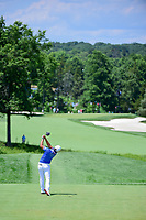 Haru Nomura (JPN) watches her tee shot on 2 during Saturday's third round of the 72nd U.S. Women's Open Championship, at Trump National Golf Club, Bedminster, New Jersey. 7/15/2017.<br /> Picture: Golffile | Ken Murray<br /> <br /> <br /> All photo usage must carry mandatory copyright credit (&copy; Golffile | Ken Murray)