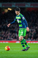 Ki Sung-Yueng of Swansea City in action during the Barclays Premier League match between Arsenal and Swansea City at the Emirates Stadium, London, UK, Wednesday 02 March 2016