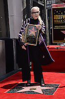 Barbara Bain @ her Walk of Fame ceremony held @ 6767 Hollywood blvd.<br /> April 28, 2016