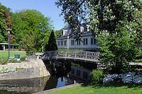 Kurpark in Mondorf-les-Bains, Luxemburg