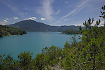 Lake Mediano, Ainsa district, Arogon, Pyranees, Spain,lake,mediano,