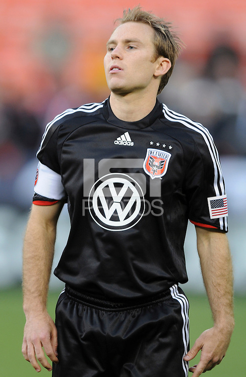 DC United defender Ryan Namoff (24)   DC United defeated FC Dallas 2-0 in the first home game of the US Open Cup title at RFK Stadium, Wednesday April 22, 2009.