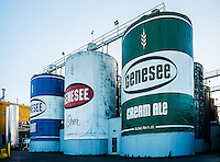 Genesee Brewing Company, Rochester, New York, USA.