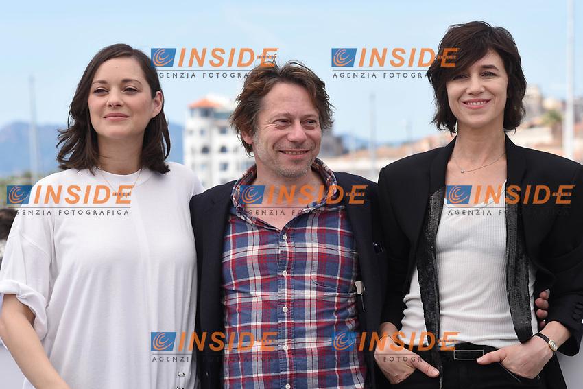 Marion Cotillard, Mathieu Amalric, Charlotte Gainsbourg<br /> Cannes 17-05-2017 70&deg;Edizione Festival del Cinema di Cannes.<br /> Foto Panoramic / Insidefoto