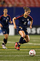 United States (USA) midfielder Carli Lloyd (11). The women's national team of the United States (USA) defeated the Republic of Ireland (IRL) during an international friendly at Giants Stadium in East Rutherford, NJ on September 17, 2008. Photo by Howard C. Smith/isiphotos.com