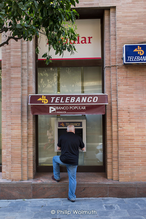 Telebanco ATM, Seville, Spain.