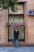 Telebanco ATM, Seville, Spain.