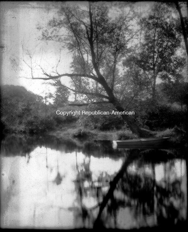 Frederick Stone negative. <br />Mt. Carmel Brook October 3, 1907.