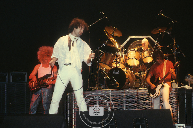 The Firm, Paul Rodgers, Jimmy Page, Chris Slade, Tony Franklin,