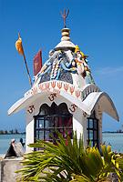 MUS, Mauritius, Anse la Raie: Hindu-Schrein | MUS, Mauritius, Anse la Raie: Hindu-shrine