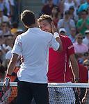Novak Djokovic (SRB) Defeats Stanislaus Wawrinka (SUI) 2-6, 7-6, 3-6, 6-3, 6-4