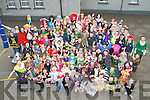 Pupils and teachers from Gneeveguilla NS who all attended school in fancy dress on Friday to celebrate World Book day ..