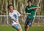 7 May 2015: The Vermont Commons School Flying Turtles play South Burlington High School at Rick Marcotte Central School in South Burlington, Vermont. Mandatory Credit: Ed Wolfstein Photo *** RAW (NEF) Image File Available ***