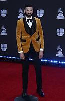 14 November 2019 - Las Vegas, NV - Jomari. 2019 Latin Grammy Awards Red Carpet Arrivals at MGM Grand Garden Arena. Photo Credit: MJT/AdMedia