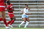 16 September 2016: North Carolina's Maya Worth. The University of North Carolina Tar Heels hosted the North Carolina State University Wolfpack in a 2016 NCAA Division I Women's Soccer match. NC State won the game 1-0.