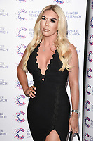 Frankie Essex<br /> arriving at James Ingham&rsquo;s Jog On To Cancer, in aid of Cancer Research UK at The Roof Gardens in Kensington, London. <br /> <br /> <br /> &copy;Ash Knotek  D3248  12/04/2017